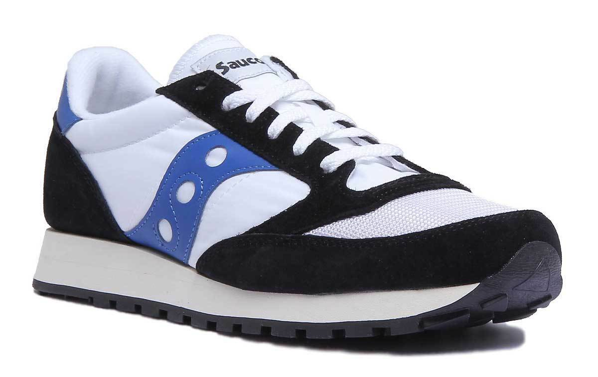 Saucony Jazz Original Mens Miscellaneous White Black Trainers UK Size 6-12