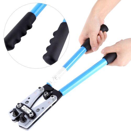 Crimpzange Kabelschuhe Set Kabelschuhe Zange Crimpen 6-50mm² Krimp Werkzeug NEU