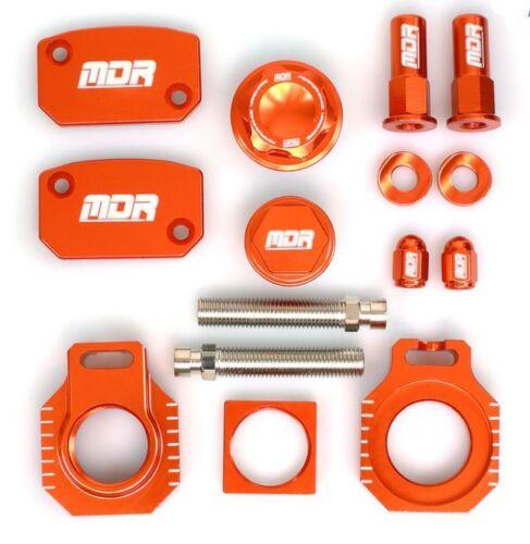 Bling kit Factory ktm naranja sxf350//450 2011-2013 para 25mm eje trasero