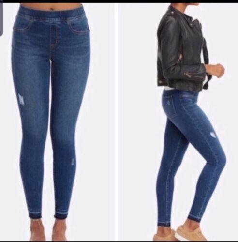 Spanx distressed skinny jeans size XL