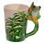 thumbnail 67 - Animal Shaped Handle Ceramic Mug Tea Coffee Cup Novelty Gift Jungle Tropical
