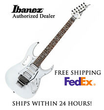 **IBANEZ JEMJR ELECTRIC GUITAR IN WHITE, FULL SET-UP AND FREE SHIPPING**