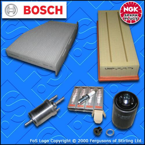 SERVICE KIT VW SCIROCCO 2.0 TSI CAWB CCZB OIL AIR FUEL CABIN FILTERS PLUGS 08-17