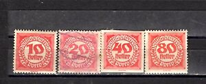 Lot sale of stamps from Austria - MH- USED Imperf - perf