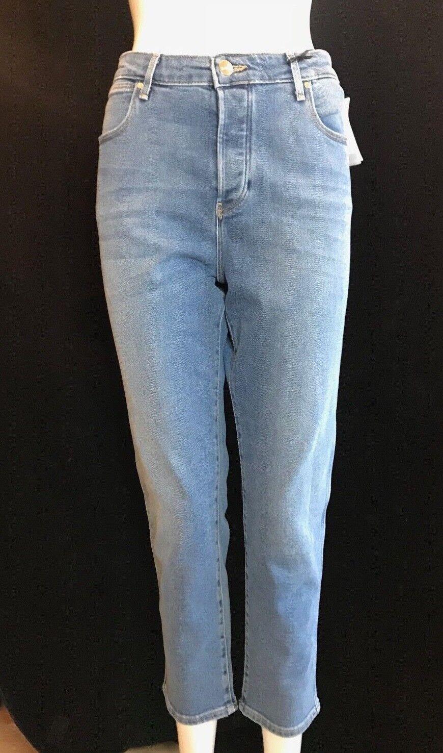 BNWT WRANGLER Ladies  Blau Jean Baby  Cropped Jeans Größe W 31  SAVE