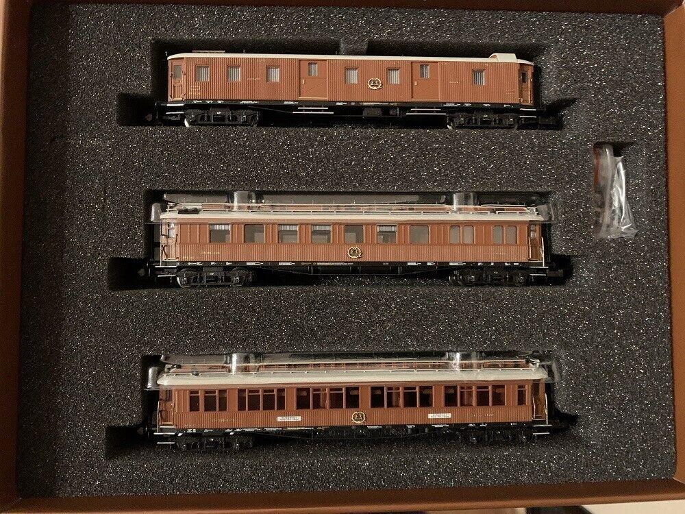 Hobbytrain H22104  3-tlg. CIWL Set 1 Wien-Nizza-Cannes-Express, Ep.I - Spur N