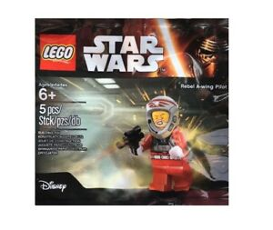 LEGO-DISNEY-STAR-WARS-MINIFIGURE-POLYBAG-REBEL-A-WING-PILOT-5004408