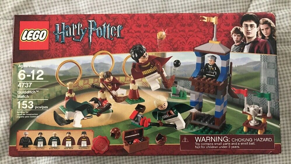 LEGO Harry Potter Quidditch Match 4737 Brand New SEALED Box