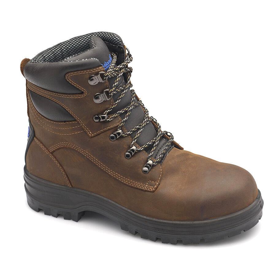 bluendstone SAFETY BOOTS 143 Steel Cap BROWN Aust Brand- Size US8, 8.5, 9 Or 9.5