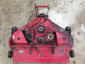 Details about Wheel Horse 212-6 rear discharge Mower Deck Assembly for  parts/repair