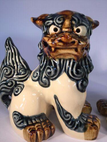 Shisa Side Standing M-size Okinawa Ryukyu Japan Traditional Guardian Lion Figure