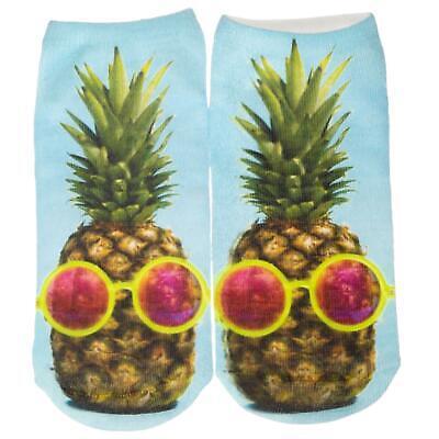 Caritatevole Cosey – 1 Paia Sneaker Calzini Breve Polarzip – Cool Ananas – Flexigröße 33-40-mostra Il Titolo Originale