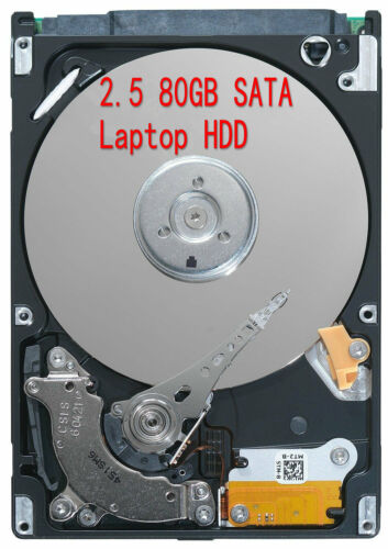 "80GB 2.5/"" 5400RPM HDD SATA Laptop Hard Drives HDD For IBM,Acer,Dell,Hp,MAC 80G"