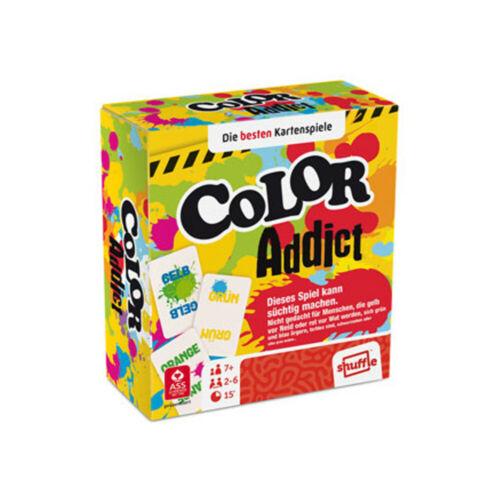Color Addict ASS Spielkarten Kartenspiel Farben