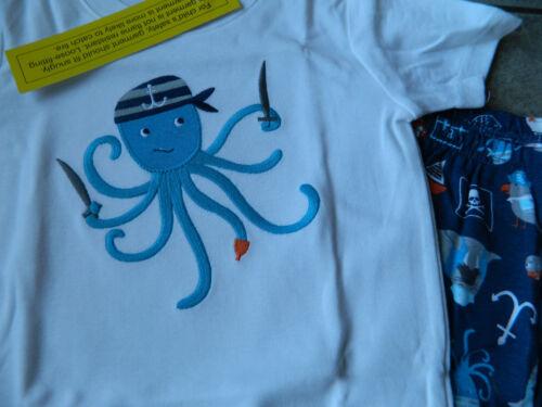 Gymmies Gymboree,Pajamas BOYS,octopus,NWT,sz.12,18,24M,2,3,4 yrs 100/% cotton