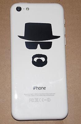 (2X) Heisenberg Breaking Bad cell phone decal