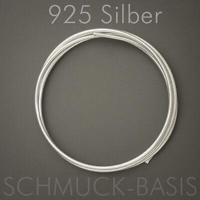 ; 925 Silber; Ösendraht 1,5 mm !!! echt 50 cm Silberdraht