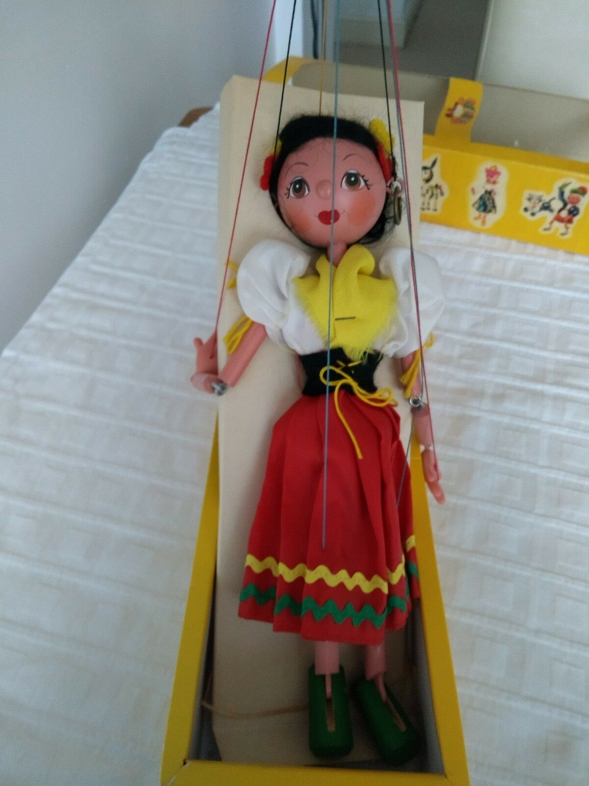 VINTAGE PELHAM PUPPET GYPSY SS3 BOXED WITH INSTRUCTIONS