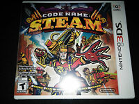 3ds Code Name S.t.e.a.m. Game  brand Sealed Nintendo Steam