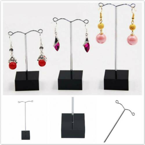 Jewellery Earring Navel Ring T-Shaped Display Stand Holder Earrings Organizer LD