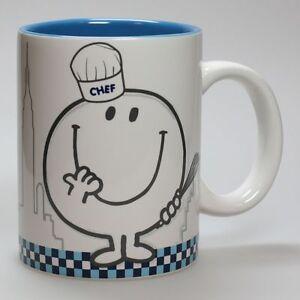 Art de la Table Monsieur et Madame Mug,  Happy Cooking : Bleu