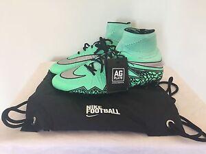 a66ce5773f6 Men s Sz 13 Nike Hypervenom Phantom II AG-R Green Glow Soccer Cleats ...