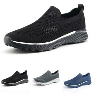 Mens-Mesh-Breathable-Soft-Sports-Outdoor-Running-Casual-Fashion-Sneakers-Shoes-B