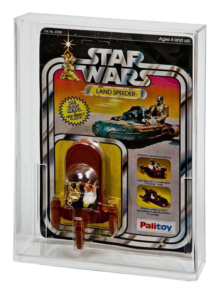 2 x GW Acrylic Display Cases - Die Cast Star Wars Std MOC (DDC-002)