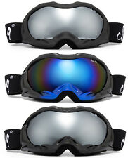 "Mens Ski Goggles Snow Goggles Anti Fog Dual Lens UV Protection ""Cross-Rocket"""