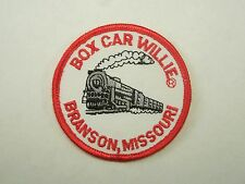 Vintage Box Car WIllie Branson, Missouri Train Engine Iron On Patch