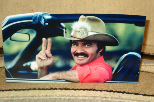 "Burt Reynolds /""Smokey and the Bandit/"" Movie Poster Tabletop Display Standee 10.5"