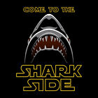 Shark Come to the Shark Side T shirt Unisex S M L XL 2XL New NWT Cotton Black