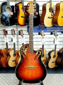 Ovation-Celebrity-CS257-Korean-made-Shallow-Bowl-back-Electro-Acoustic-Guitar