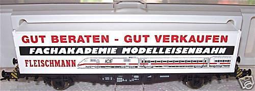 Fachakademie Vagone per Container Fleischmann 95 5243 Conf. Orig. 1 87 Å GA5