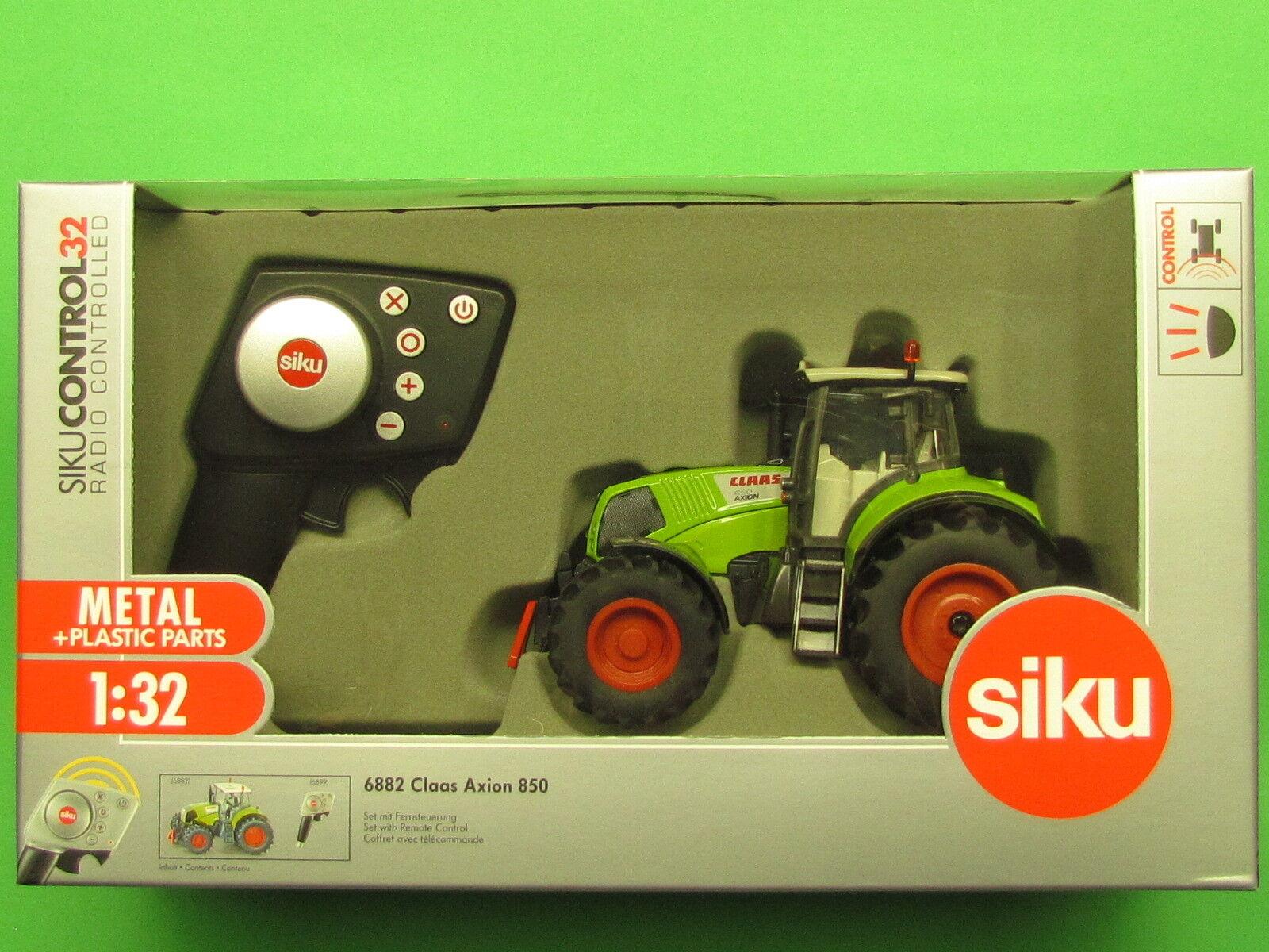 1 32 Siku Control 6882 Claas Axion 850 Set Blitzversand per DHL-Paket  |  Neuer Markt