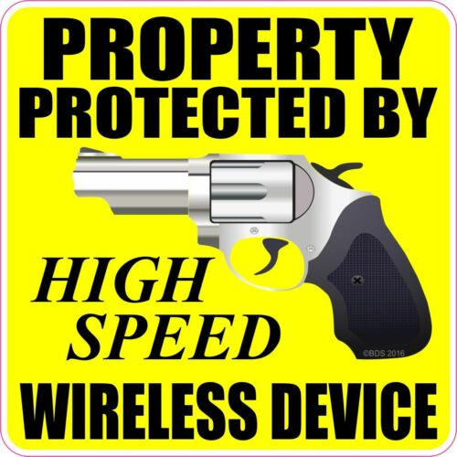 Home Security Property Protected By High Speed Wireless Device ...
