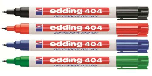 EDDING 404 Permanentmarker alle Farben frei wählbar