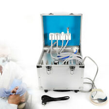 Portable Dental Mobile Rolling Case Delivery Unit Withair Compressorsuction 4h Us
