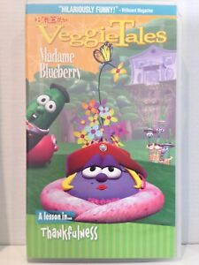 VeggieTales-MADAME-BLUEBERRY-A-LESSON-IN-THANKFULNESS-VHS-VIDEO