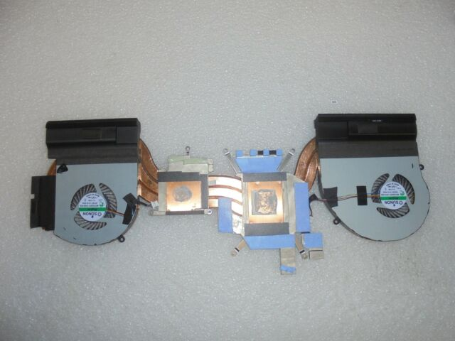 OEM Alienware 17 R4 CPU Graphics Cooling Assembly for NVIDIA Fan Heatsink  4RFW1