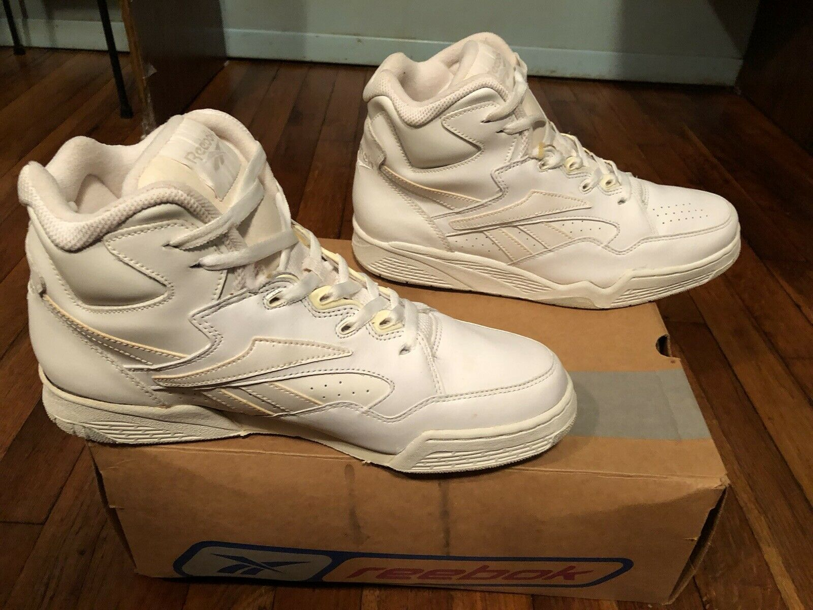 White And Natural Reebok Sneakers - image 3
