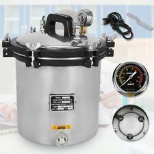 110v 18 L Steam Autoclave Sterilizer Tattoo Dental Lab Equipment