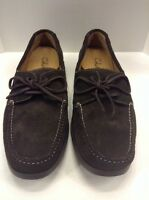 Cole Haan Boat Shoes Nike Air Dark Brown Suede Men's 10 NIB New Rare C06595