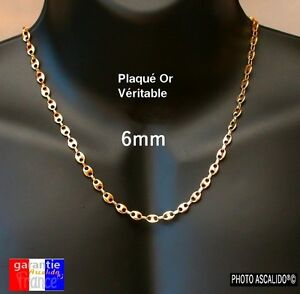 collier large homme