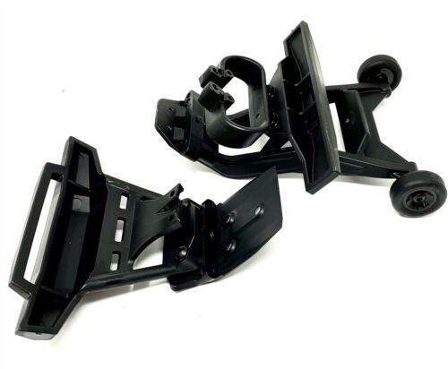 HOSS 4x4 VXL BUMPERS /& Wheelie Bar Front /& Rear assembled Traxxas 90076-4