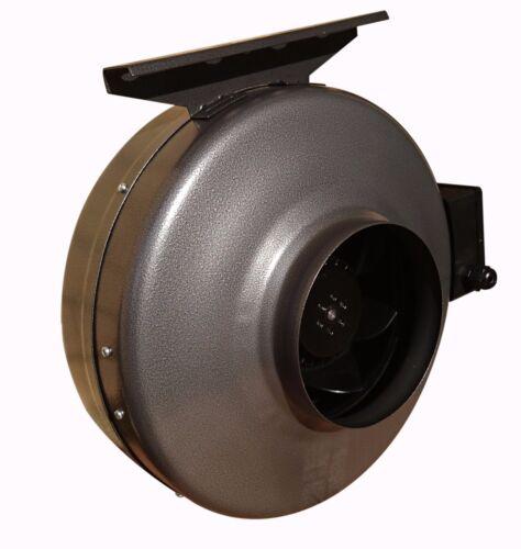 """Centrifugal Industriel en Ligne Conduit Ventilateur Extraction 5""""// 125 mm ; Zink"""