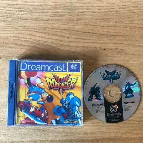 1 of 1 - Tech Romancer Sega Dreamcast Game | PAL Boxed | Capcom Fighter
