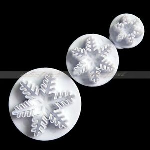 3-PCS-Snowflake-Fondant-Cake-Cookie-Decorating-Craft-Plunger-Mold-Mold-Cutter