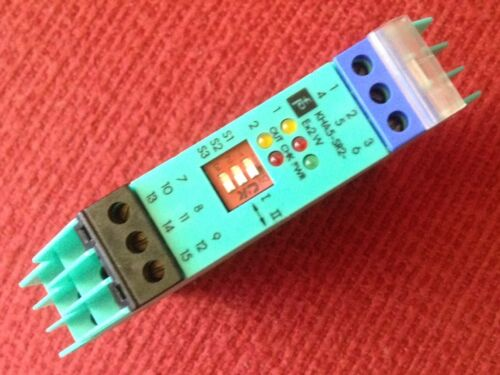 Safety Relay Module- Part #33805S Fuchs Pepperl K-System,Type-KHA5-SR2-Ex2.W