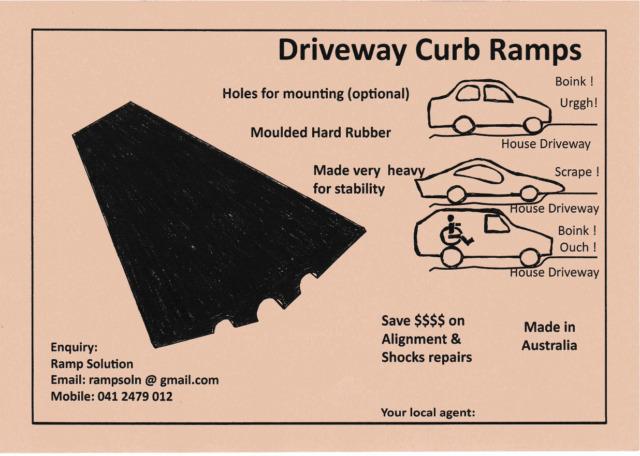 Driveway Curb Ramps